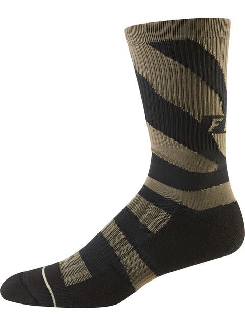 "Fox 8"" Trail Cushion Cycling Socks Men brown/black"